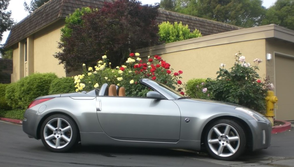 Nissan 350z touring roadster