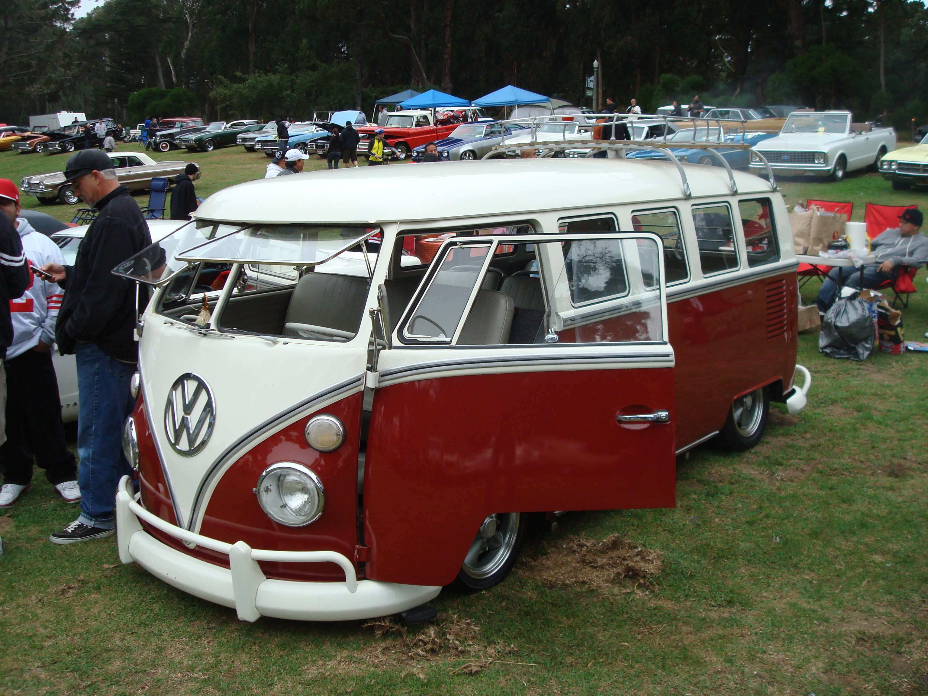 Slammed and super clean VW T2