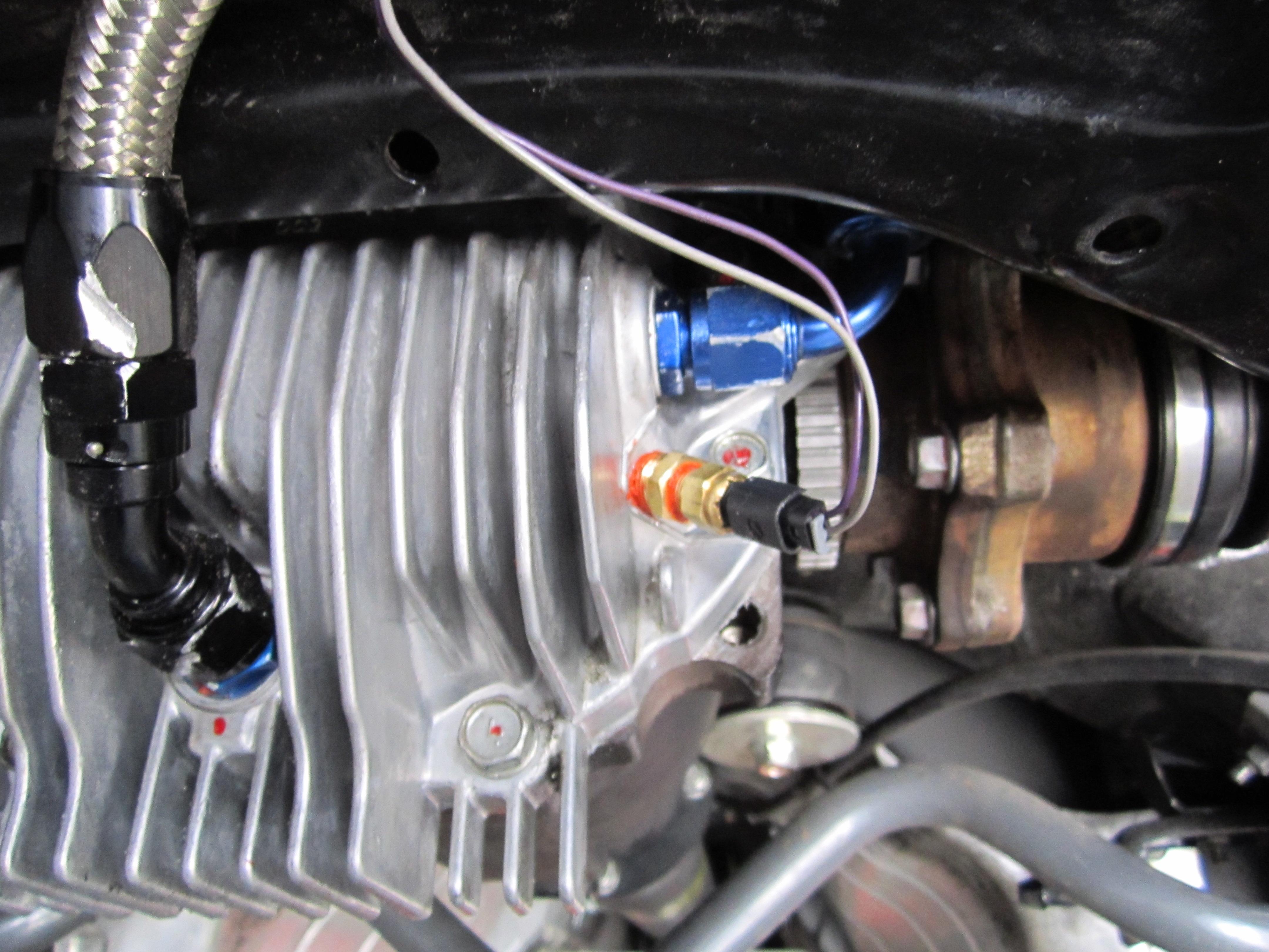 Rear Differential Cooler : Z car nissan race