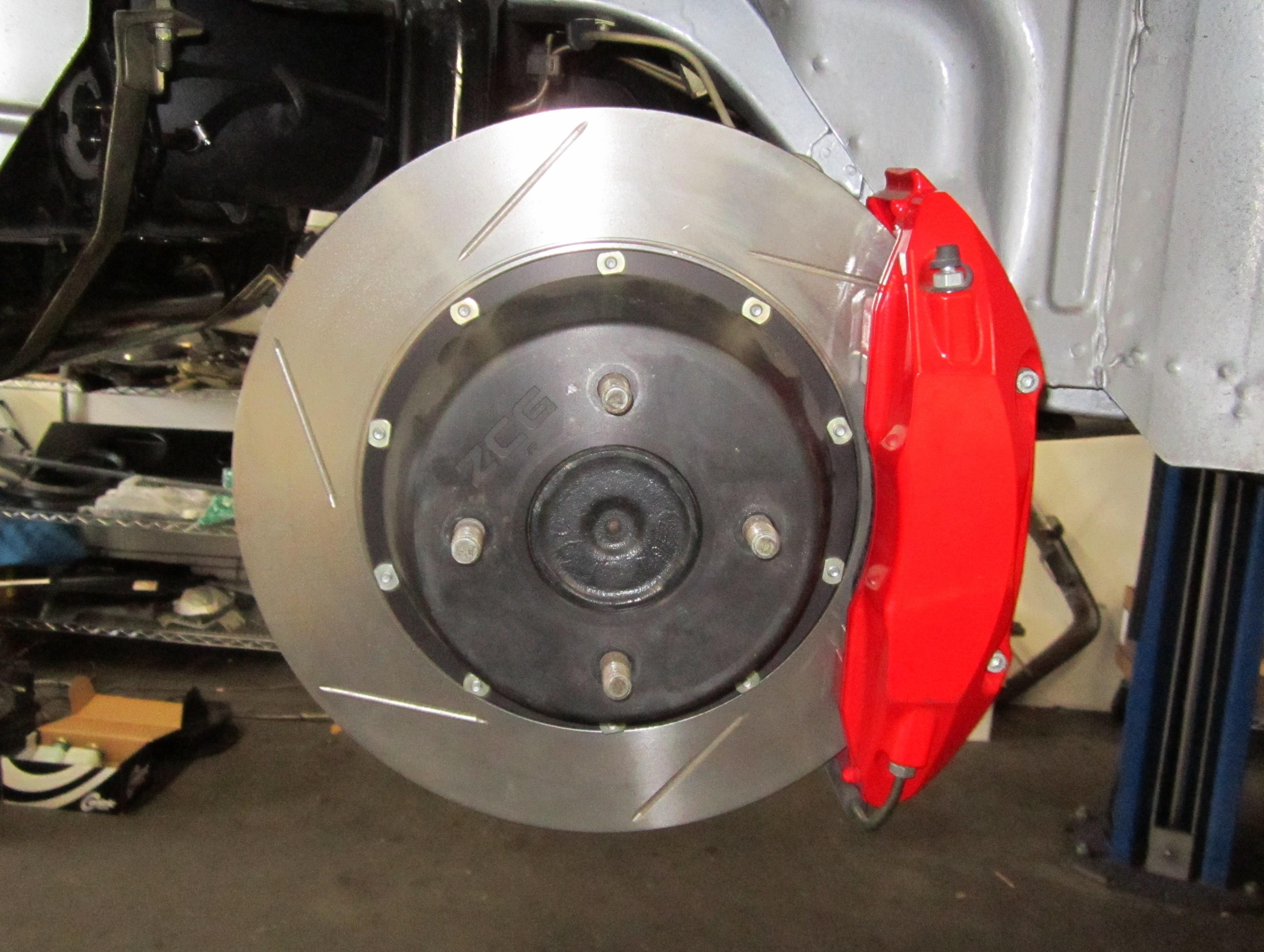 Z-Car Blog » Post Topic » Balancing the Beast: Big Brakes