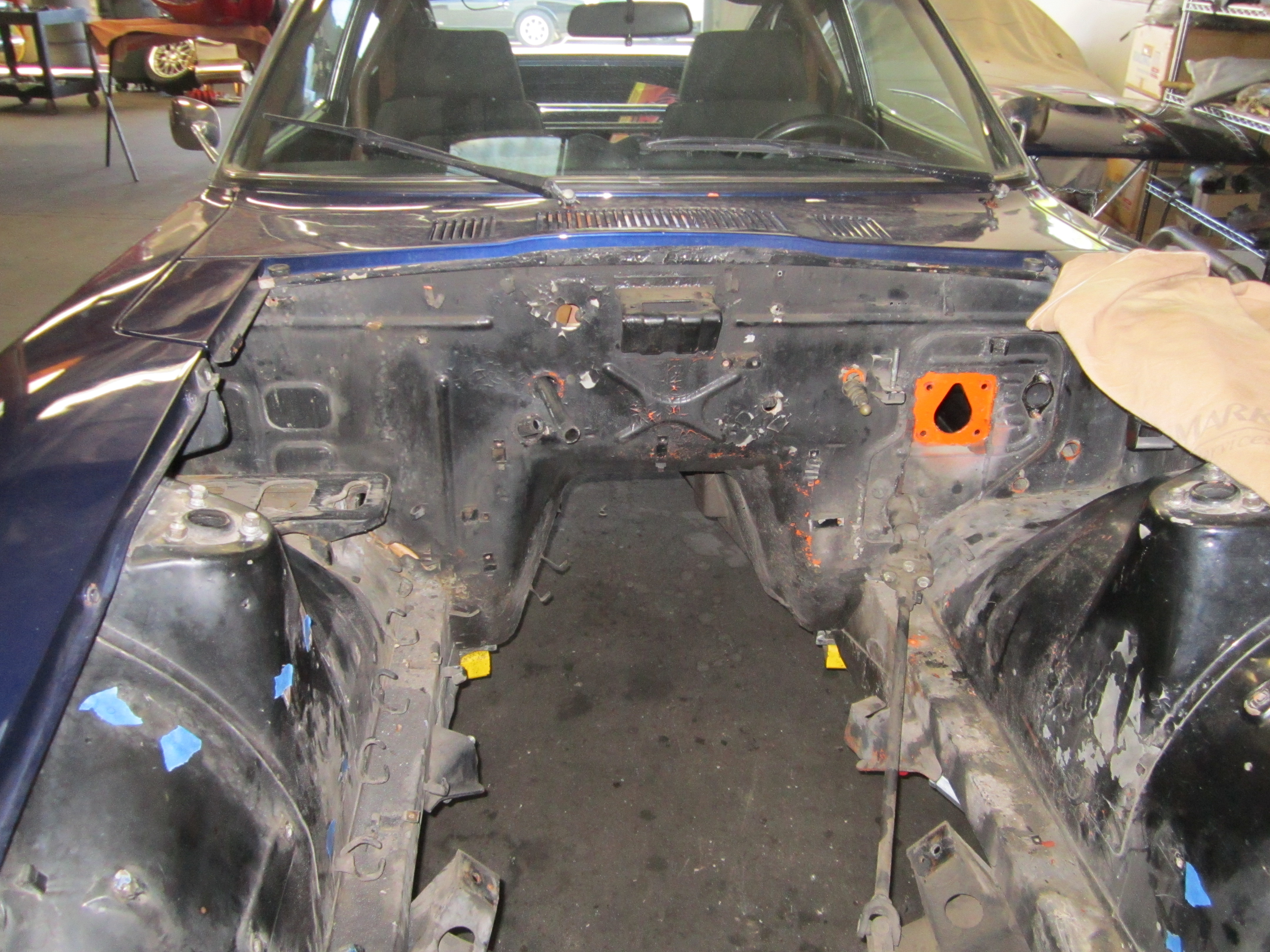 Z Car Blog 2013 May Hydraulic Powered Wiring Harness New Lines Plumbing And Cleanup Make This Engine Bay Pop