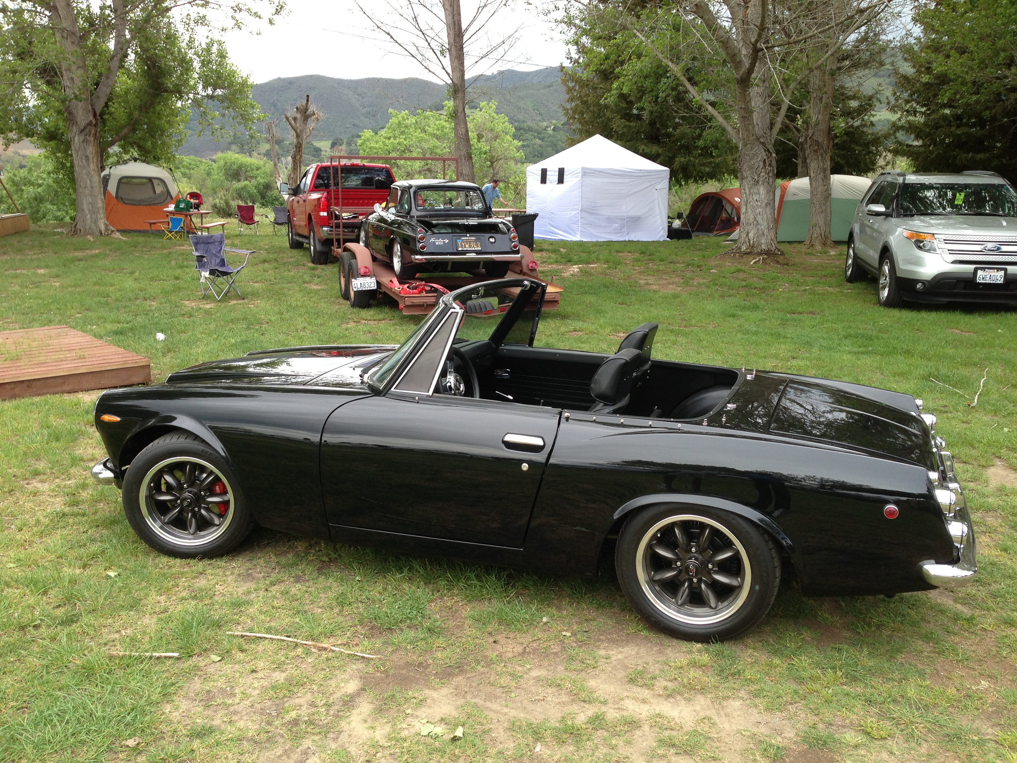 Z Car Blog 2014 April The Truck That It39s Being Installed Into Has Been Megasquirted By Mr Just Across Street From Our Campsite Was Friday Night Meet Greet At Mendenhalls Museum Of Gas Station Pumps This Venue Is Quite Amazing And A