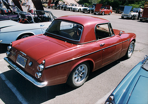 What is the Alvin style hardtop? - Datsun Roadster Forum-311s org