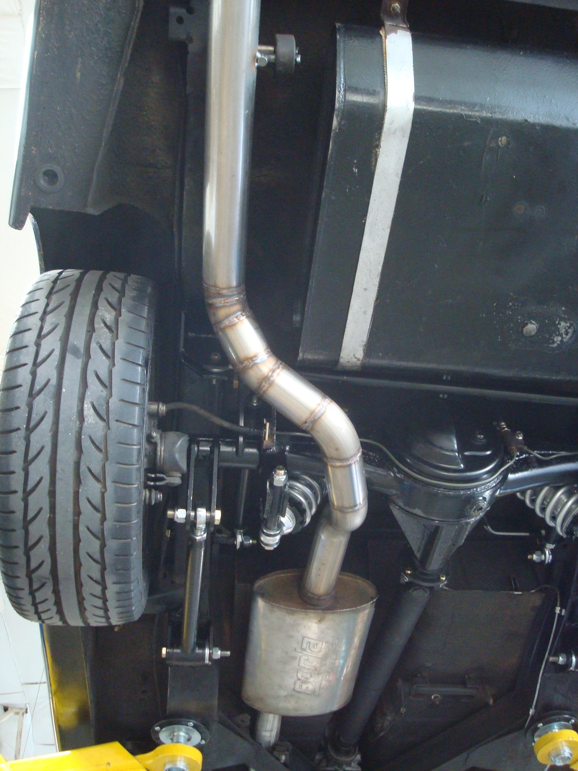 Mufflers: Borla vs Magnaflow+Resonator - Datsun Roadster