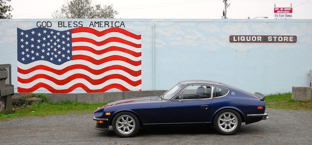 Z-Car Blog » Post Topic » From SF to BC: 240z finds a new home