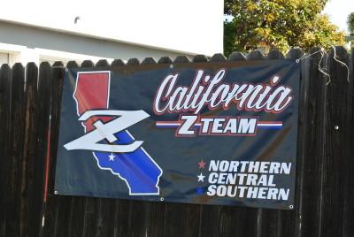 CA Z Team banner
