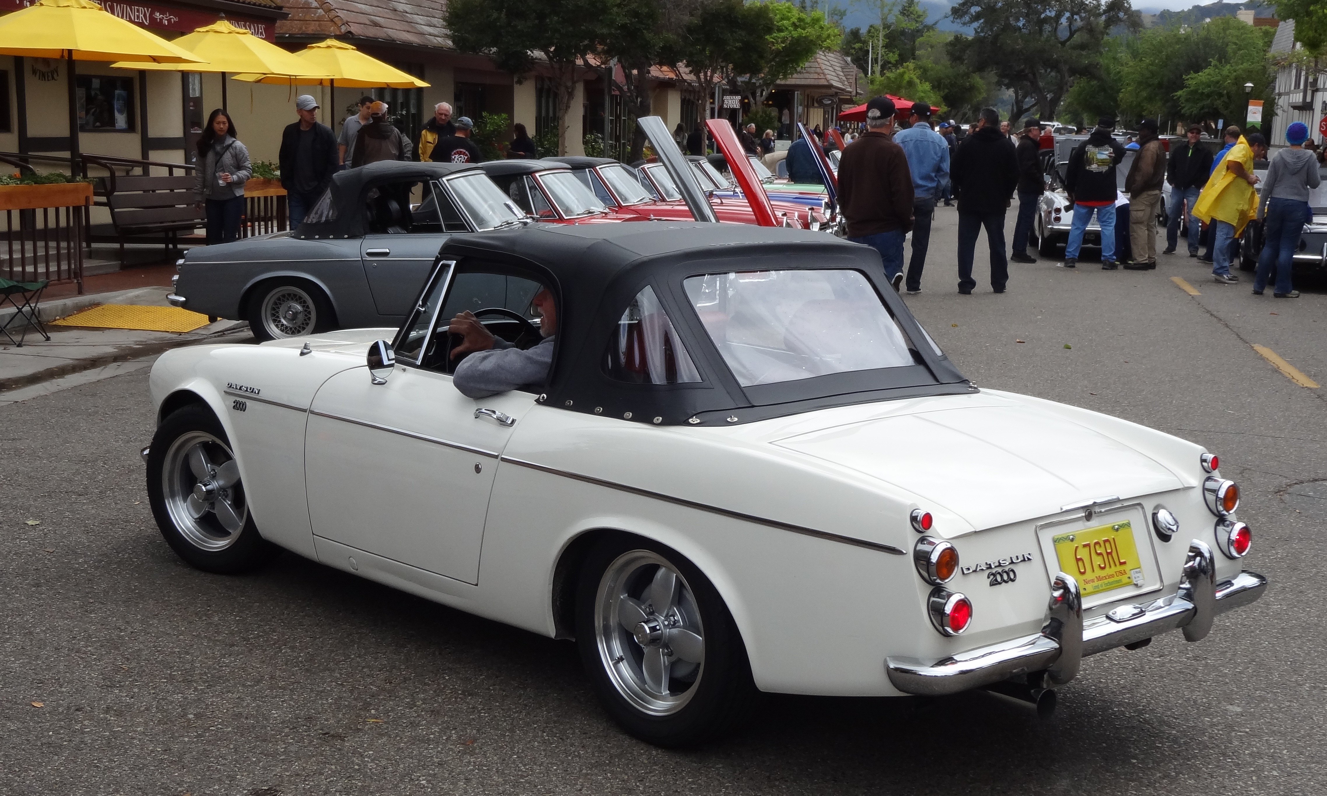 Z Car Blog Post Topic Datsun 2000 Roadster Wins Concours