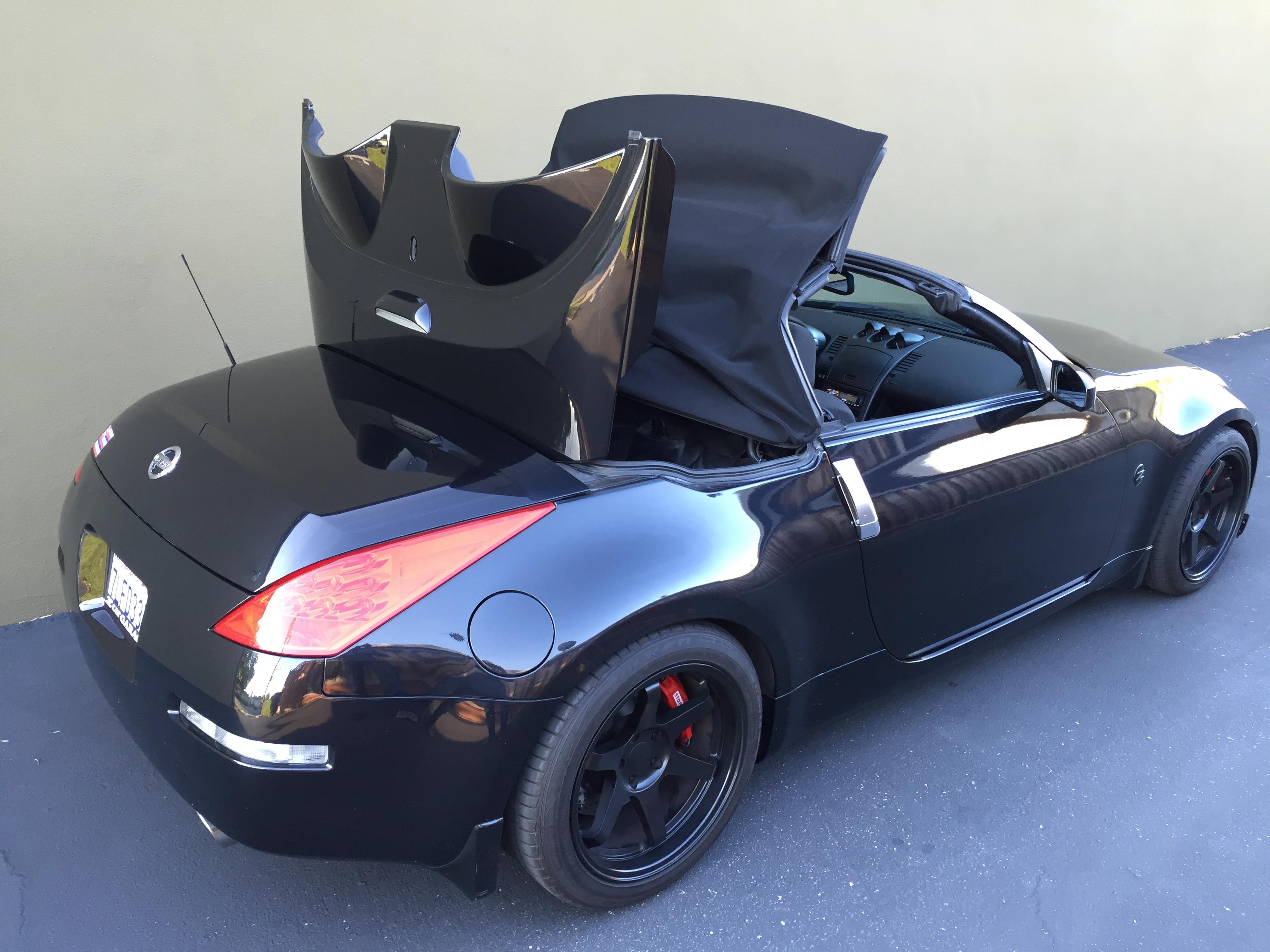 z car blog 2008 nissan 350z roadster. Black Bedroom Furniture Sets. Home Design Ideas