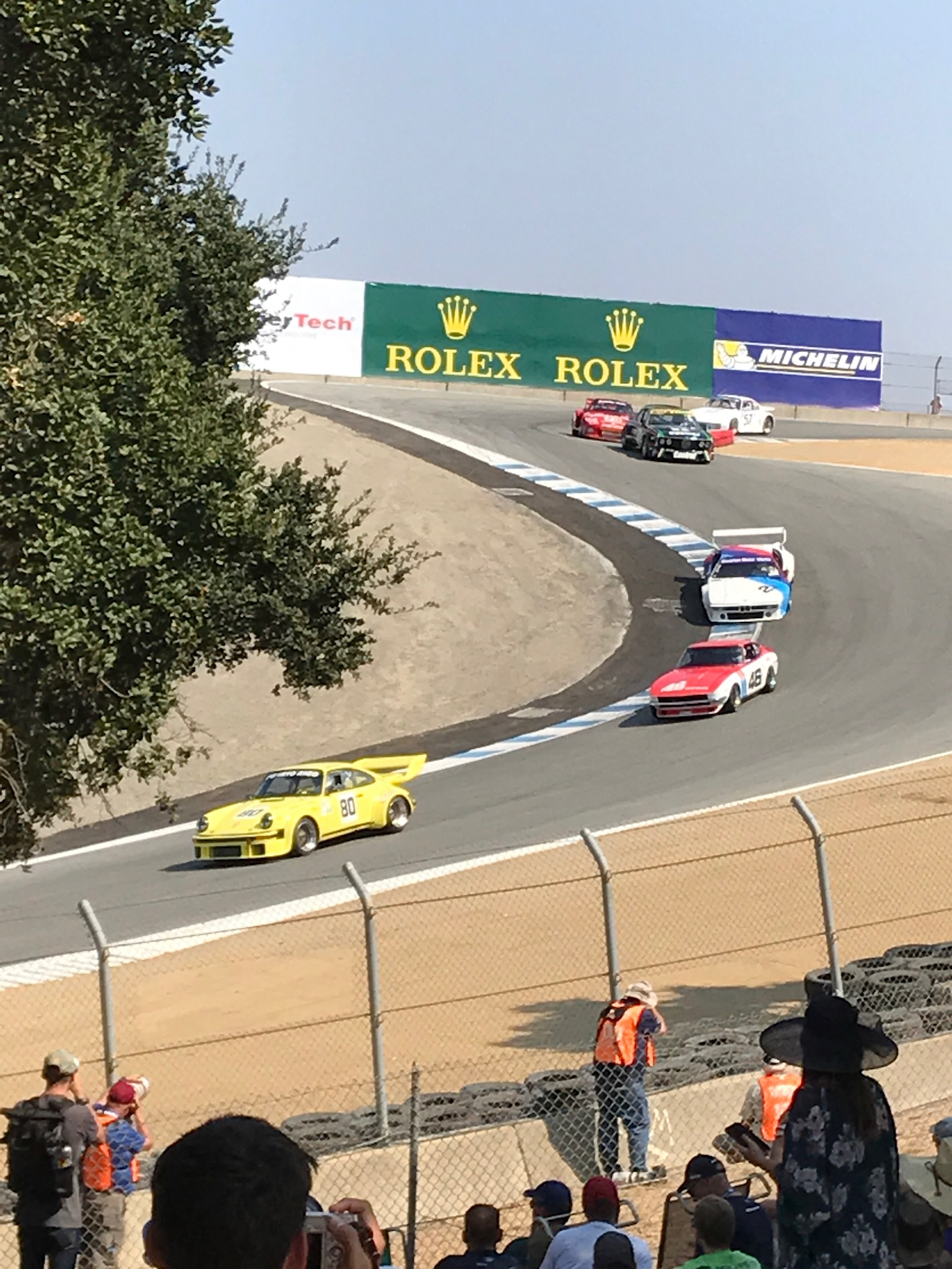 This event features the best of every decade of racing history all condensed into four days of qualifying and competition at mazda laguna seca raceway