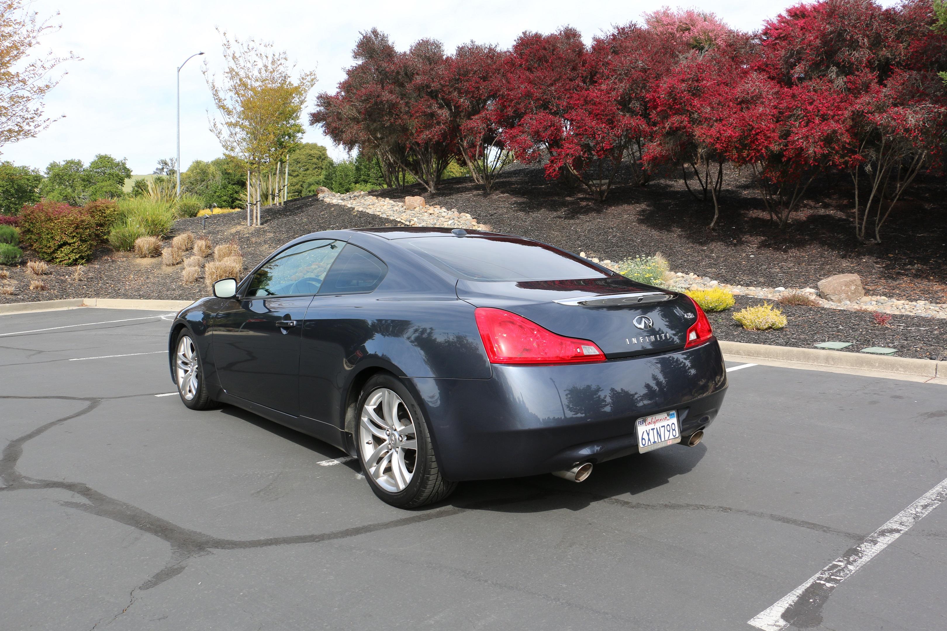 Stoptech Brake Kit >> Z-Car Blog » 2009 Infiniti G37X Coupe AWD