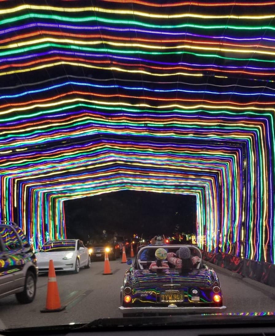 Christmas Lights Vasona Park: Fantasy Of Lights By Datsun Roadster