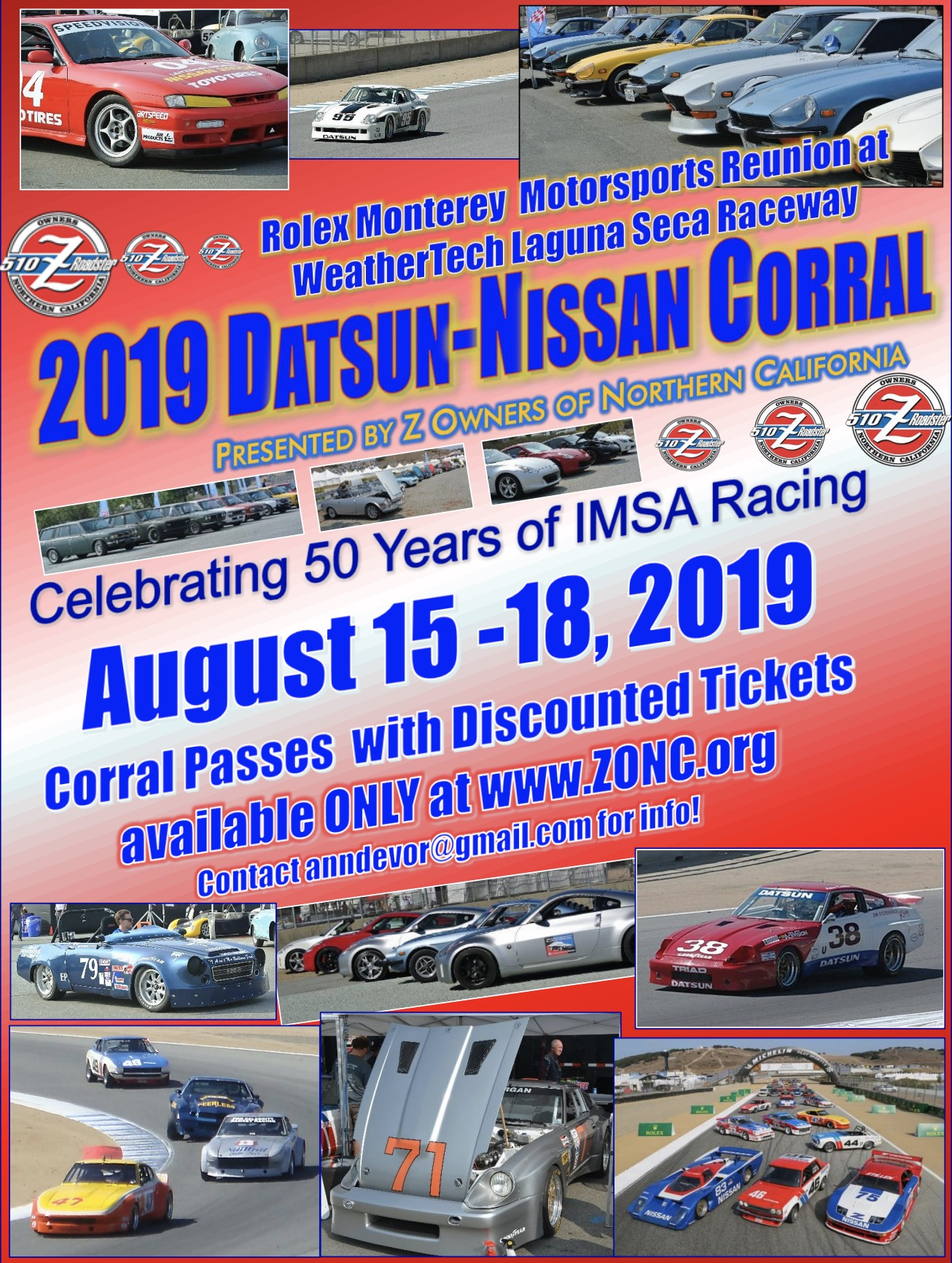 Z-Car Blog » Post Topic » EVENTS: Nissan Corral at the 2019